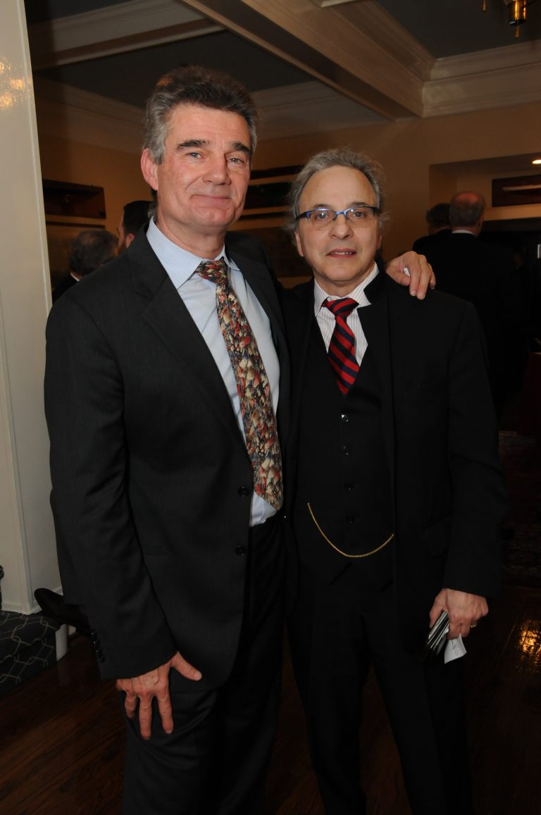 Dr. Ralph Aquila and Dr. Rocco Francis Marotto