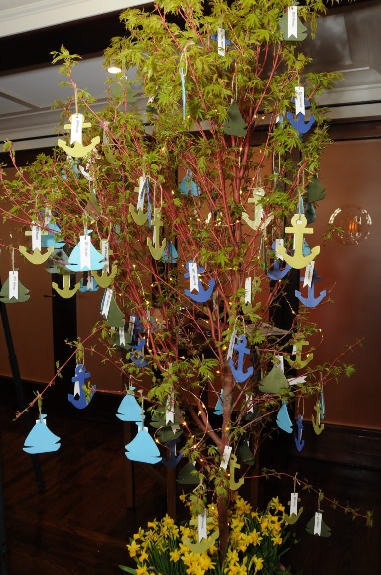 Giving Tree Nautical Style