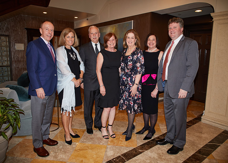 Several Laurel House employees celebrating at the 2019 Champion for Recovery and Town Champions event